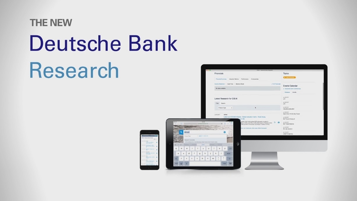 Deutsche Bank Research Portal
